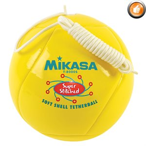 Tetherball, cushioned cover, yellow